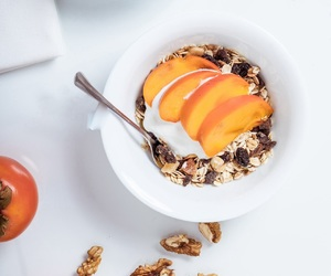 delicious, healthy, and peach image