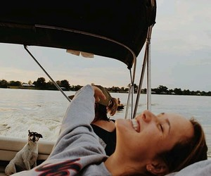 summer, boat, and water image