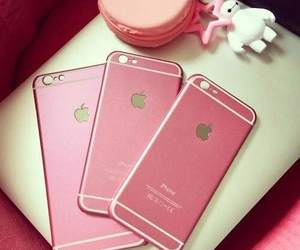 iphone, pink, and girly image