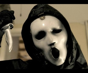 scream, killer, and serie image