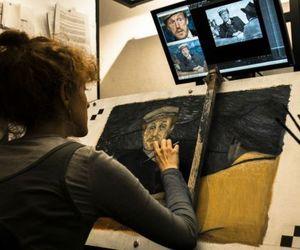 art, movie, and van gogh image