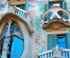 Barcelona, architecture, and Gaudi image