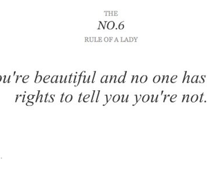 lady, rules, and rules of a lady image