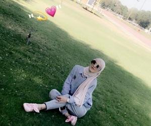 girls, islam, and محجبات image