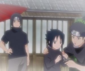itachi, sasuke, and shisui image