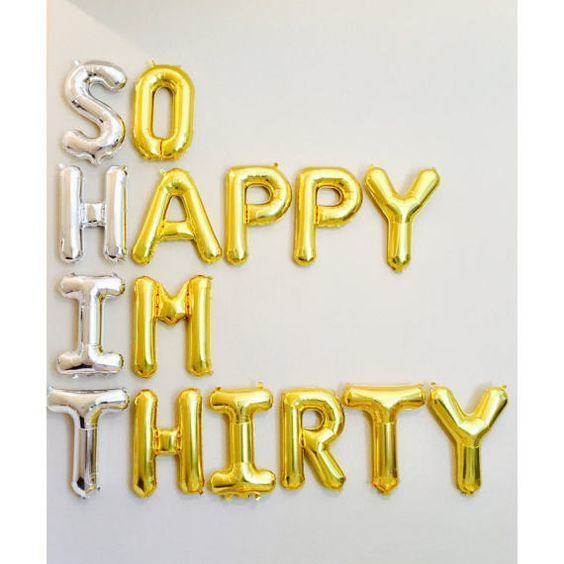 balloons, happy, and 30 image