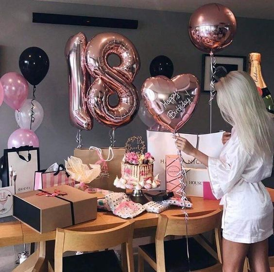birthday, 18, and party image