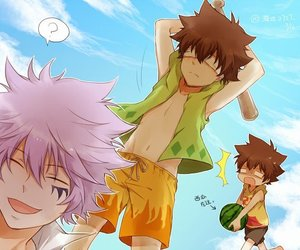 anime, katekyo hitman reborn, and anime boy image