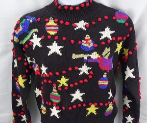 christmas, ebay, and sweaters image