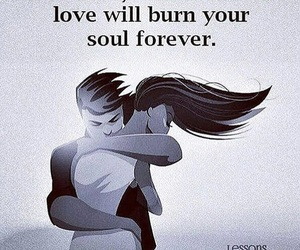 burn, fire, and love image