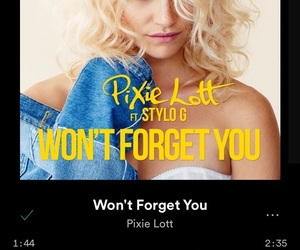 ft, pixie lott, and spotify image