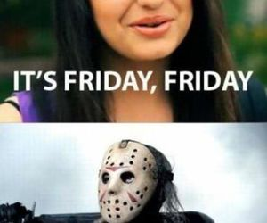 friday, funny, and rebecca black image