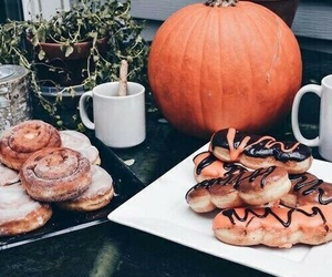 pumpkin, autumn, and food image