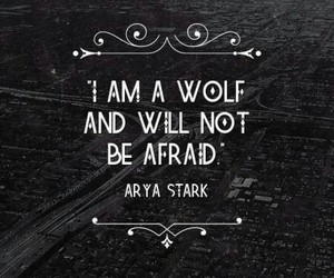game of thrones, arya stark, and quotes image