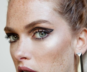 blush, eyes, and freckles image