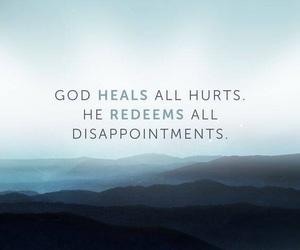 god, heal, and motivation image
