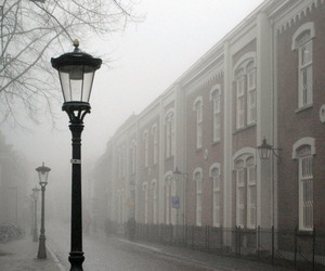 architecture, fog, and netherlands image