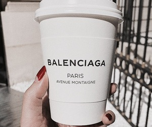 coffee and Balenciaga image