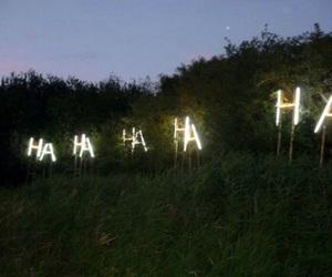 light, grunge, and haha image