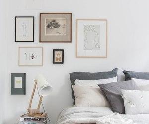 bedroom, interior, and Scandinavian image