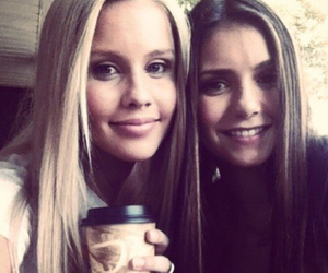 Nina Dobrev and claire holt image