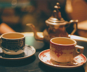 antique, chic, and tea image