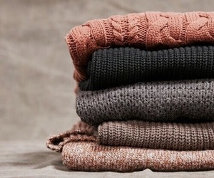 sweater, fall, and autumn image