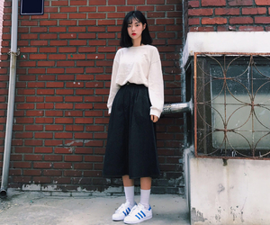 asian, fashion, and korean girl image