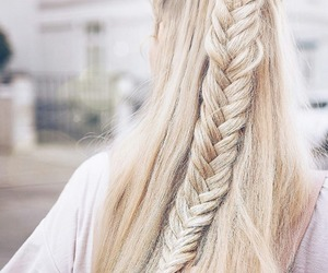 hairstyle, braids, and hair image