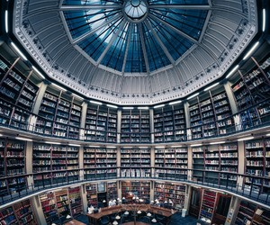 architecture, books, and cool image