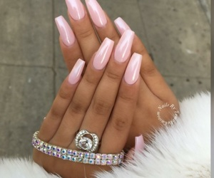 goals, nails, and pink image