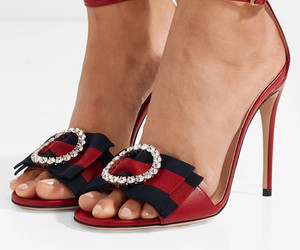 fashion, gucci, and sandals image