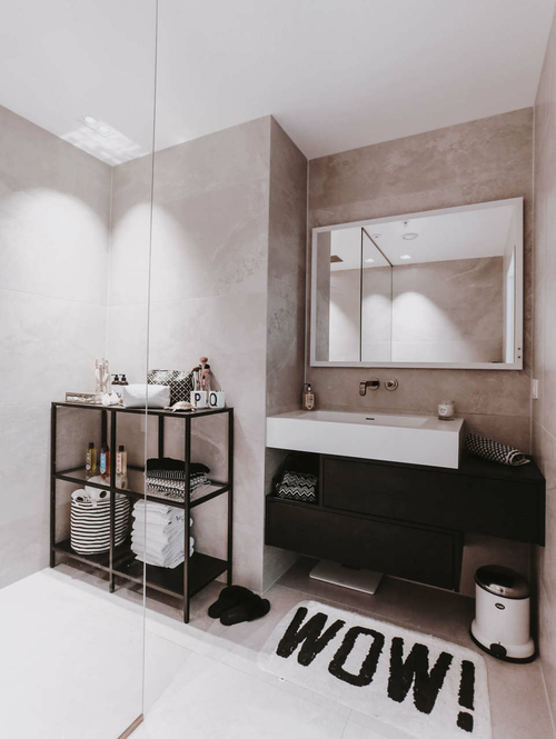 article, home, and bathroom image