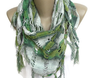 beachwear, scarf, and scarves image