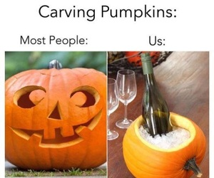 alternative, autumn, and carving image