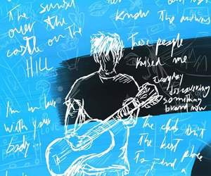 ed sheeran, divide, and Lyrics image