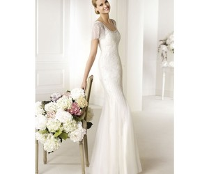dresses, Pronovias, and rosy image