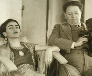 frida kahlo, Diego Rivera, and Frida image