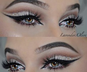 eyes, sparkle, and wings image