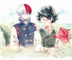 boku no hero academia and todoroki shouto image