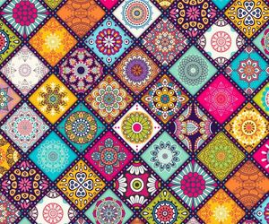 colorful, colourful, and pattern image