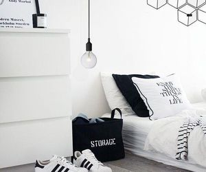 room, adidas, and white image