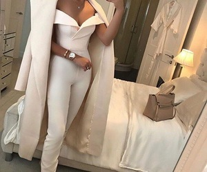 look, white style, and inspiration image