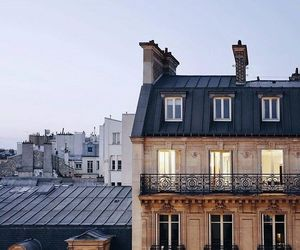 city, house, and paris image