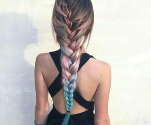 beautiful, braided hair, and hairstyles image
