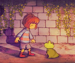 gif, frisk, and undertale image
