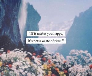 quotes, words, and happy image
