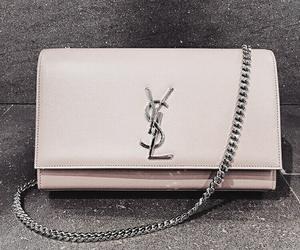 pink, bag, and YSL image