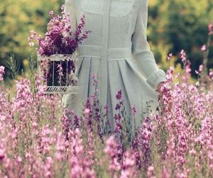 flowers and hijab image