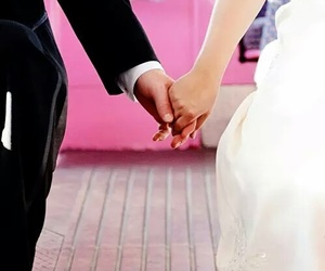 love, wedding, and forever image